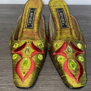 New; J. Renee Shoes With Rhinostone